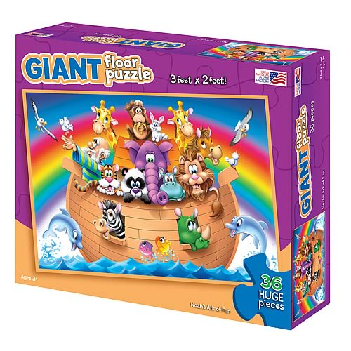 Noahs Ark of Fun  Giant Floor Puzzle