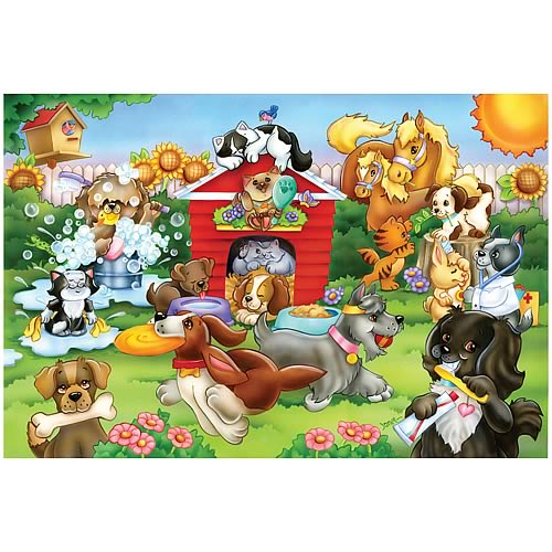 Dog House Giant Floor Puzzle