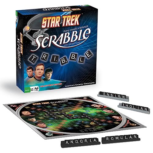 Star Trek Scrabble Game