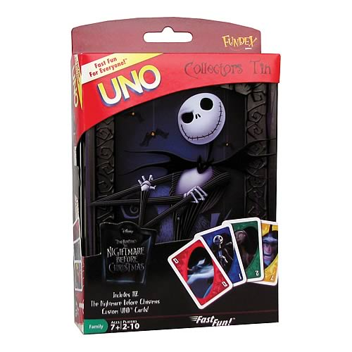 Nightmare Before Christmas UNO Game