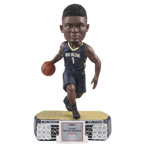 NBA New Orleans Pelicans Zion Williamson Stadium Lights Bobble Head