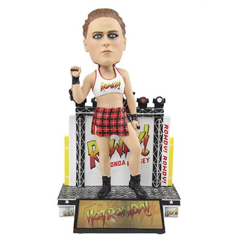 WWE Ronda Rousey Resin Bobble Head