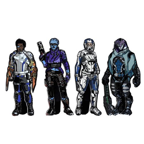 Mass Effect Andromeda FiGPiN Enamel Pins 6-Pack Disp. Case