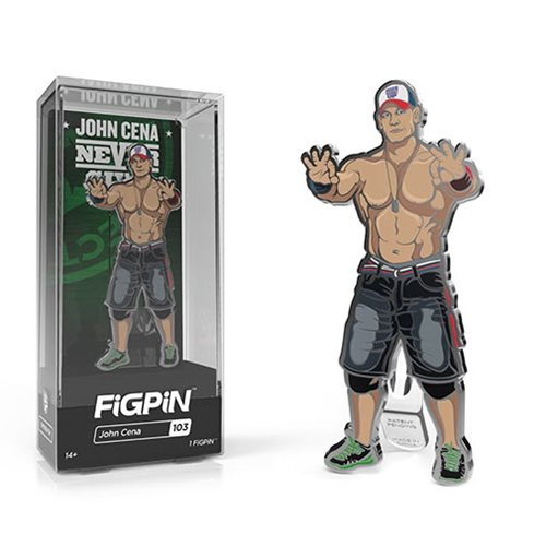 WWE Superstars John Cena FiGPiN Enamel Pin