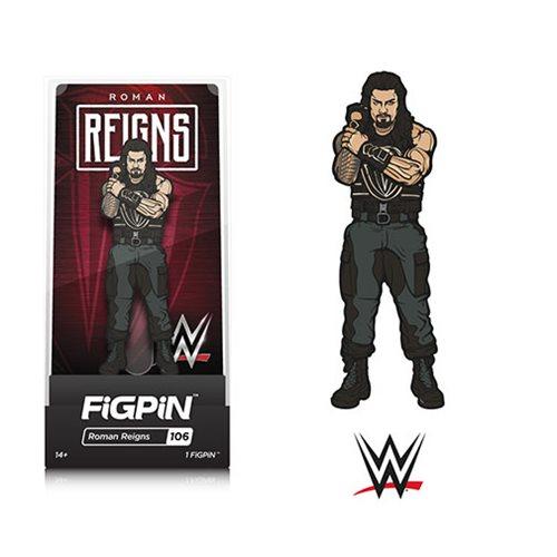 WWE Superstars Roman Reigns FiGPiN Enamel Pin