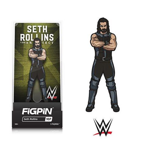 WWE Superstars Seth Rollins FiGPiN Enamel Pin