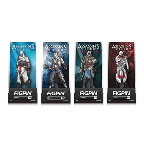 Assassin's Creed FiGPiN Enamel Pins Display Case