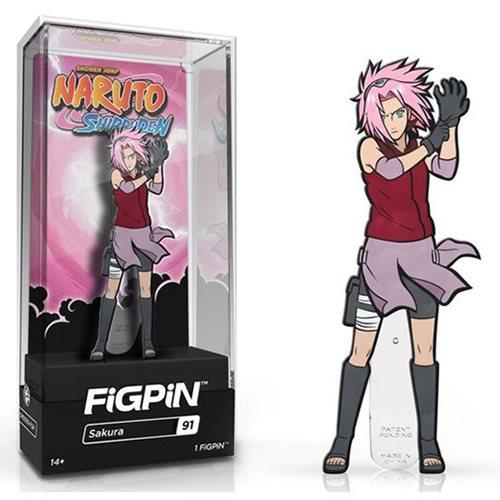 Naruto Shippuden Sakura FiGPiN Enamel Pin