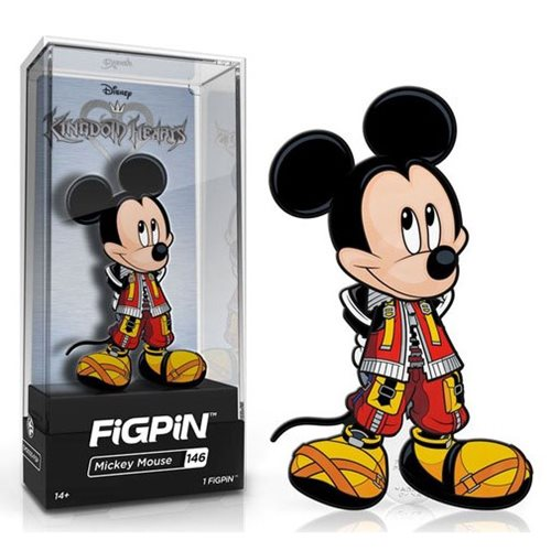 Kingdom Hearts King Mickey FiGPiN Enamel Pin