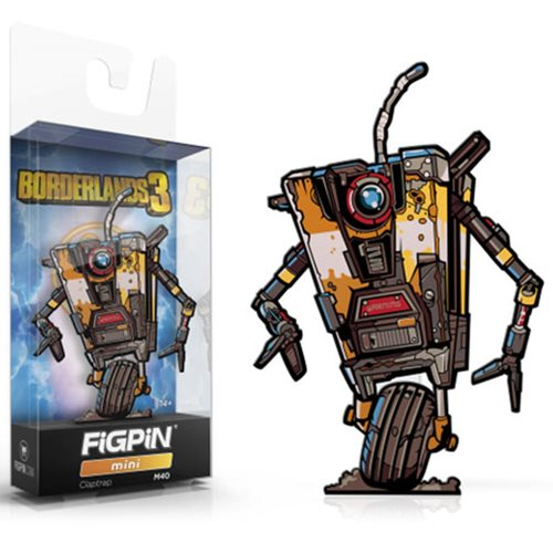 Borderlands 3 Claptrap FiGPiN Mini Enamel Pin