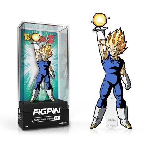 Dragon Ball Z Super Saiyan Vegeta FiGPiN Enamel Pin