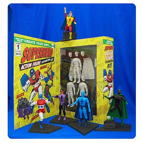 Create Your Own Super Hero Action Figure Kit