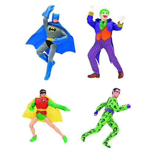 Batman Retro Action Figures Series 1 Set
