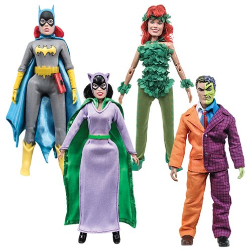 Batman Series 5 Retro 8-Inch Action Figure Set