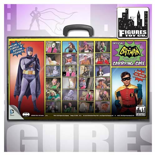 Batman 1966 TV Series Action Figures Carry Case