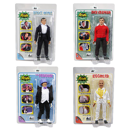 Batman Classic 1966 TV Series 2 8-Inch Action Figure Set