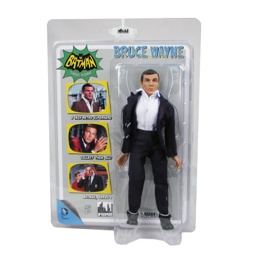 Batman 1966 TV Series 2 Bruce Wayne 8-Inch Action Figure