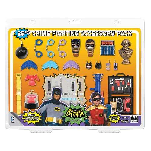 Batman 1966 TV Series 25-Piece Action Figure Accessory Pack