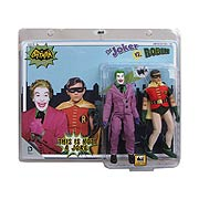 Batman 1966 TV The Joker vs. Robin 8-Inch Action Figure Set