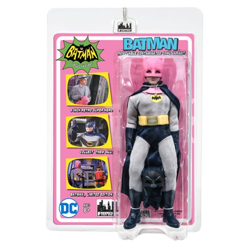 Batman Classic 1966 TV Series Pink Cowl 8-Inch Action Figure
