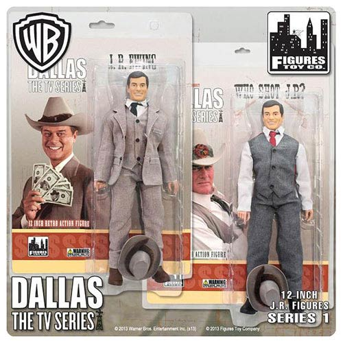 Dallas JR Ewing 12-Inch Action Figure Set
