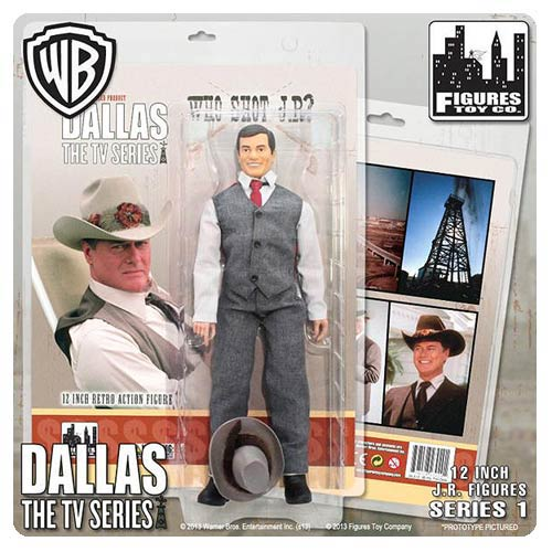 Dallas Who Shot JR Ewing? 12-Inch Action Figure