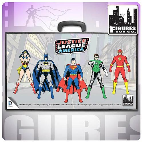Justice League DC 8-Inch Action Figure Carrying Case