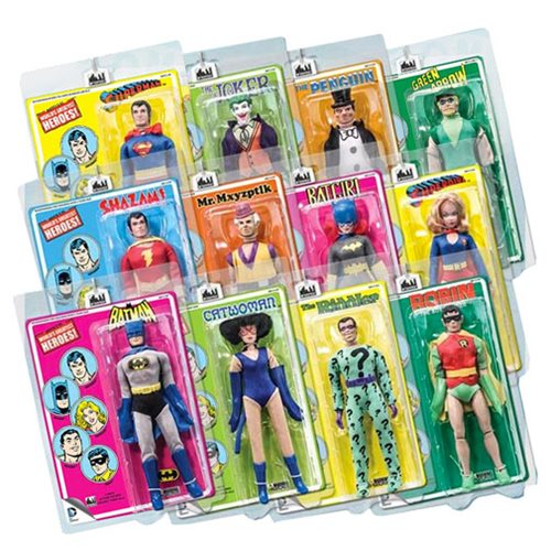 DC Comics Retro Mego Style Series 1 Action Figure Case