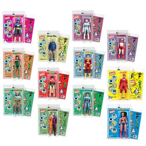 DC Comics Mego Style 8-Inch Retro Action Figures Series 4