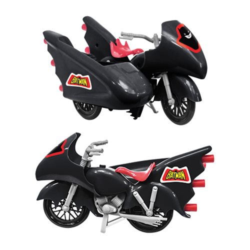 Batman DC Comics Batcycle Vehicle (Black)