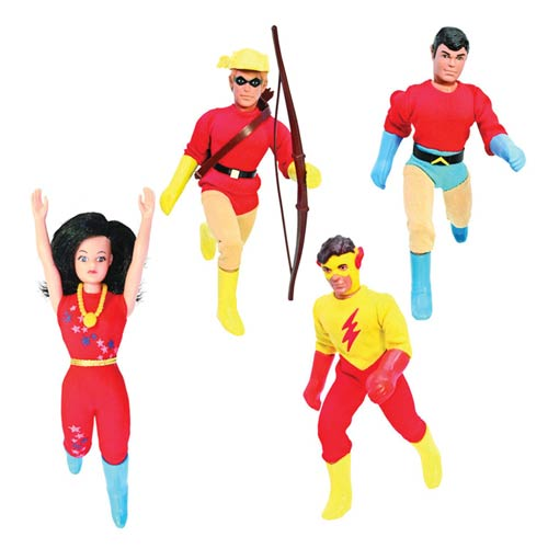 Teen Titans DC Retro Series 1 Action Figure Set