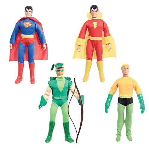 DC Retro Super Powers 8-Inch Series 1 Action Figure Set