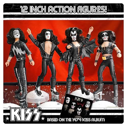 KISS 1st Album Series 2 12-Inch Action Figures Set