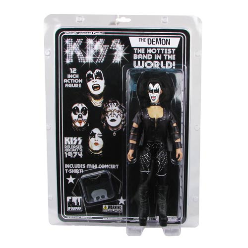 KISS 1st Album Series 2 12-Inch Demon Action Figure