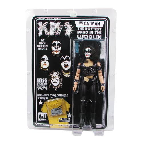 KISS 1st Album Series 2 12-Inch Catman Action Figure
