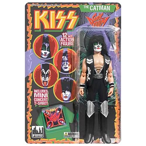 KISS Series 3 Sonic Boom Catman 12-Inch Action Figure
