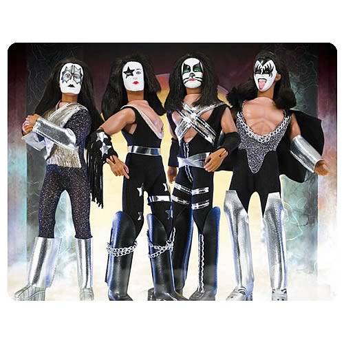 KISS Retro 8-Inch Action Figures Series 1 Set