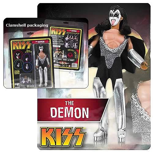 KISS Retro Series 1 8-Inch Demon Action Figure
