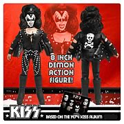 KISS 1st Album Series 2 8-Inch Demon Action Figure