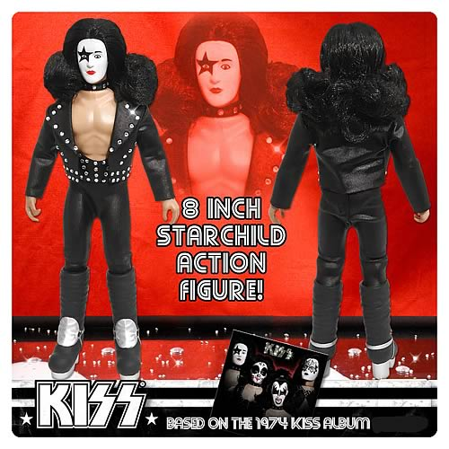 KISS 1st Album Series 2 8-Inch Starchild Action Figure