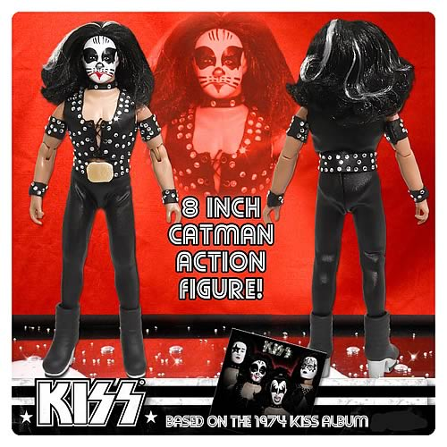 KISS 1st Album Series 2 8-Inch Catman Action Figure