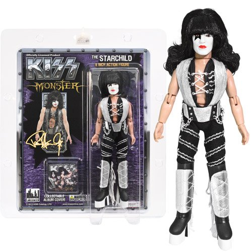 KISS Starchild Series 4 Monster Album 8-Inch Action Figure
