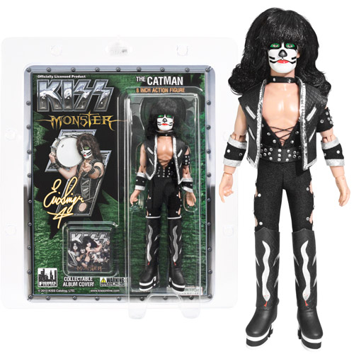 KISS Catman Series 4 Monster Album 8-Inch Action Figure