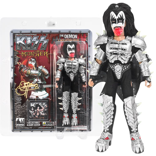KISS Demon Bloody Series 4 Monster 8-Inch Action Figure