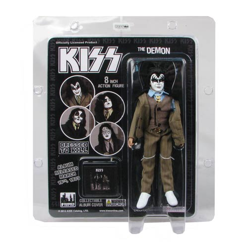 KISS Demon Dressed To Kill Color Suit 8-Inch Action Figure