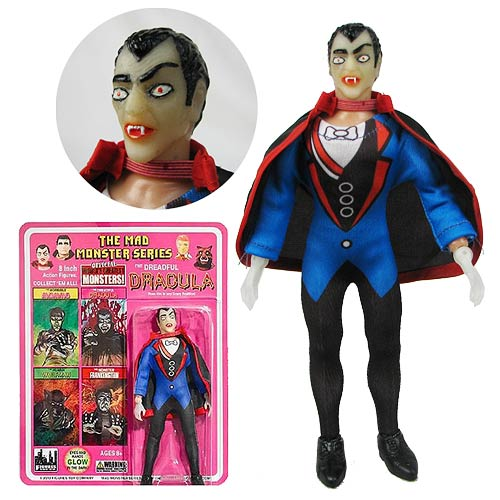 Mad Monsters Series 1 Dreadful Dracula Action Figure