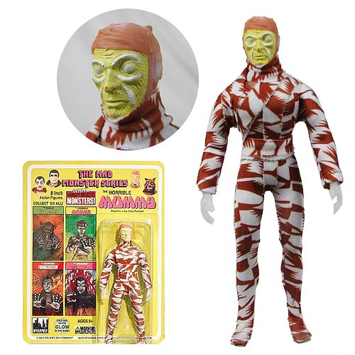 Mad Monsters Series 1 Horrible Mummy Action Figure