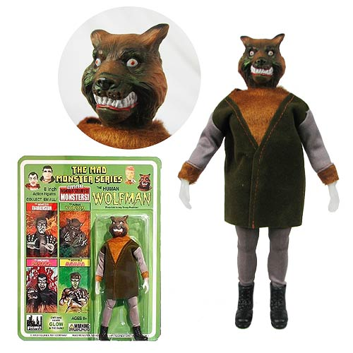 Mad Monsters Series 1 Human Wolfman Action Figure