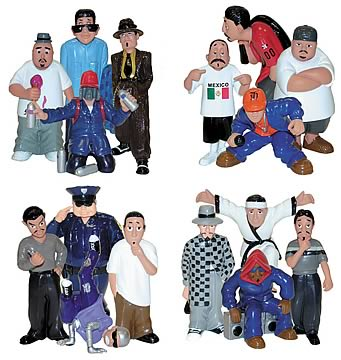 Homies 1:24 Figure Sets 1-4