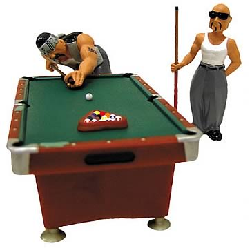 Homies 1:24 Pool Hall Set 1